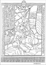 The Prince Of Egypt coloring page (001)