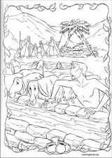 The Prince Of Egypt coloring page (002)