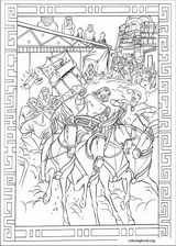 The Prince Of Egypt coloring page (016)