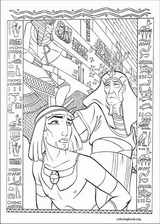 The Prince Of Egypt coloring page (022)