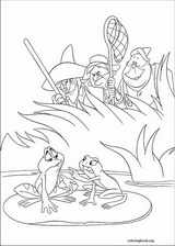The Princess And The Frog coloring page (001)