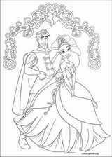 The Princess And The Frog coloring page (009)