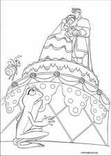 The Princess And The Frog coloring page (011)