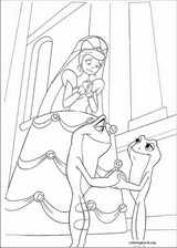 The Princess And The Frog coloring page (014)