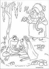 The Princess And The Frog coloring page (015)