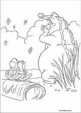 The Princess And The Frog coloring page (020)