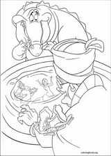 The Princess And The Frog coloring page (021)