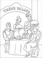 The Princess And The Frog coloring page (022)
