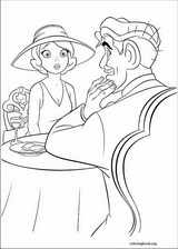 The Princess And The Frog coloring page (023)