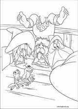 The Princess And The Frog coloring page (024)