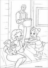 The Princess And The Frog coloring page (029)