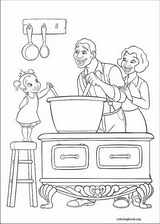 The Princess And The Frog coloring page (035)