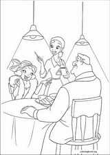 The Princess And The Frog coloring page (038)