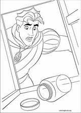 The Princess And The Frog coloring page (046)