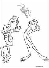 The Princess And The Frog coloring page (053)