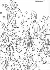 The Rainbow Fish coloring page (001)