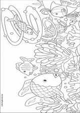 The Rainbow Fish Coloring Pages ColoringBookorg