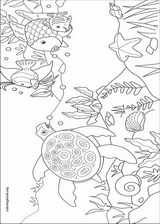 The Rainbow Fish coloring page (004)