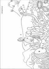 The Rainbow Fish coloring page (006)