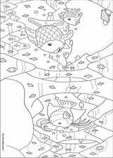 The Rainbow Fish coloring page (007)