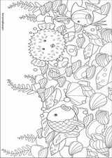 The Rainbow Fish coloring page (008)