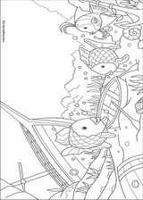 The Rainbow Fish coloring page (010)