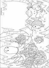 The Rainbow Fish coloring page (011)