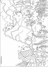 The Rainbow Fish coloring page (012)