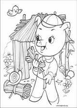 The Three Little Pigs coloring page (002)