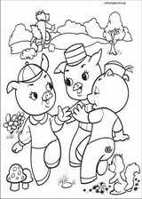 The Three Little Pigs coloring page (005)