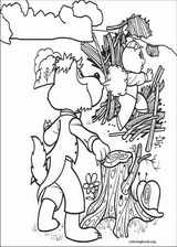 The Three Little Pigs coloring page (006)