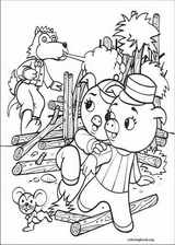 The Three Little Pigs coloring page (007)