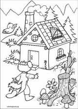 The Three Little Pigs coloring page (008)
