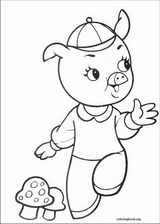 The Three Little Pigs coloring page (009)
