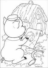 The Three Little Pigs coloring page (010)