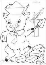 The Three Little Pigs coloring page (012)
