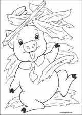 The Three Little Pigs coloring page (013)
