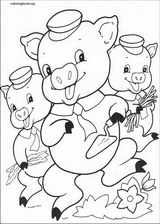 The Three Little Pigs coloring page (017)