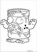 The Trash Pack coloring page (001)