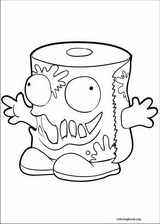 The Trash Pack coloring page (010)