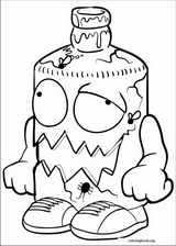The Trash Pack coloring page (015)