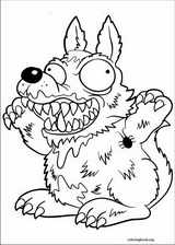 The Trash Pack coloring page (020)