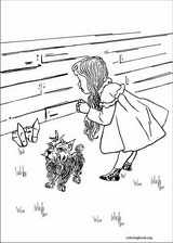 The Wizard Of Oz coloring page (001)