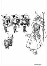 The Wizard Of Oz coloring page (008)