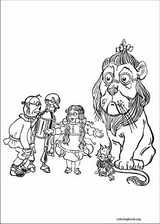 The Wizard Of Oz coloring page (012)