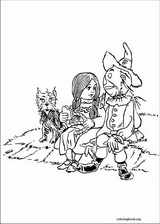 The Wizard Of Oz coloring page (021)