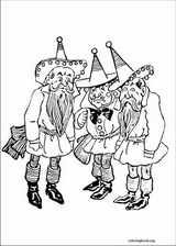 The Wizard Of Oz coloring page (029)