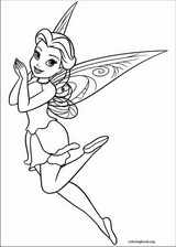 Tinker Bell coloring page (009)