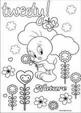 Tweety coloring page (012)