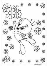 Tweety coloring page (013)